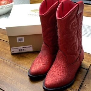 Tucker + Tate red boots